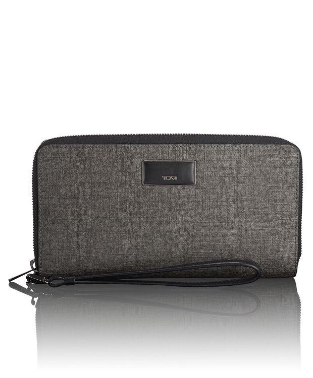 Travel Wallet in Earl Grey