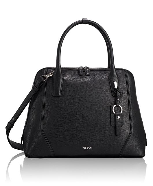 Janet Domed Satchel in Black