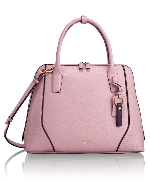 Janet Domed Satchel in Pink