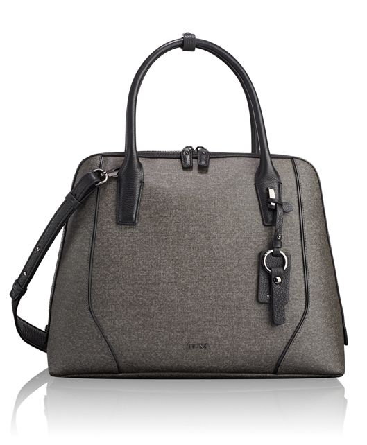 Janet Domed Satchel in Earl Grey