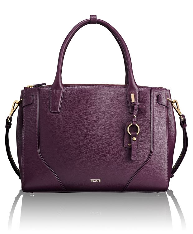 Kiran Tote in Mulberry