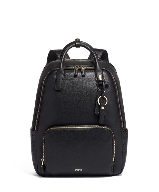 Indra Backpack in Black/Gold