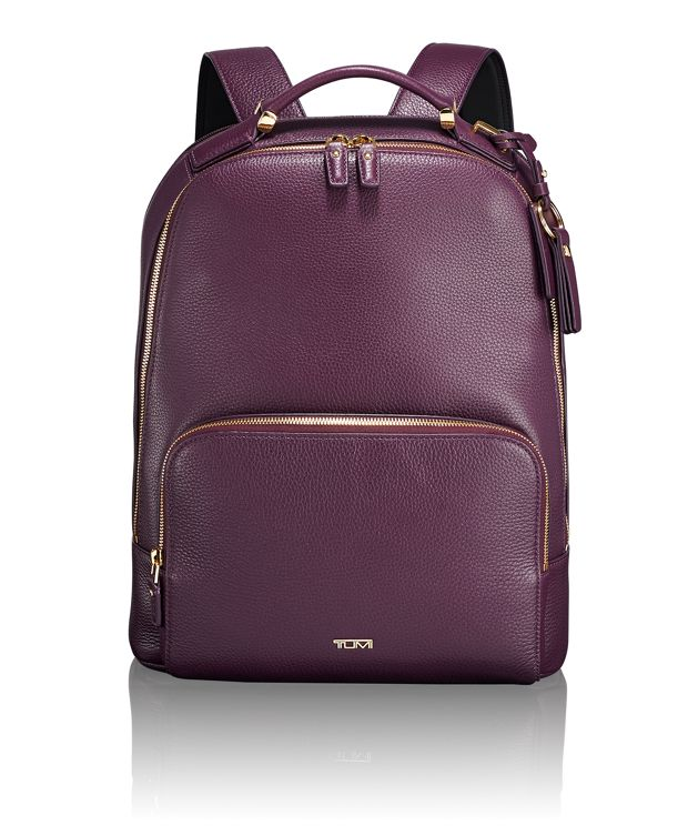 Gail Backpack in Mulberry