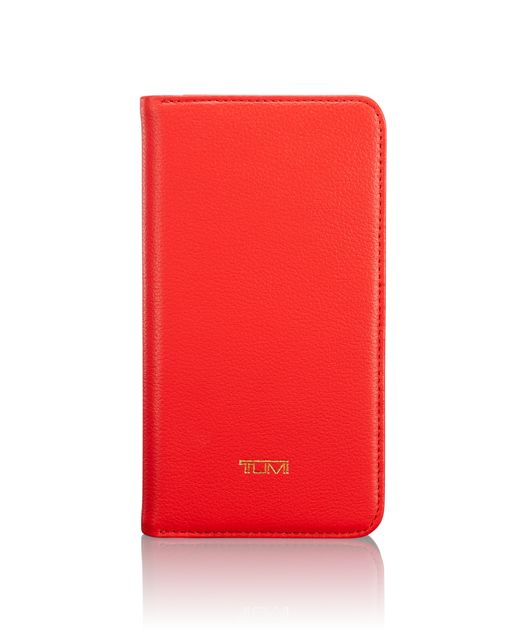 Wallet Folio iPhone XS/X in Ember
