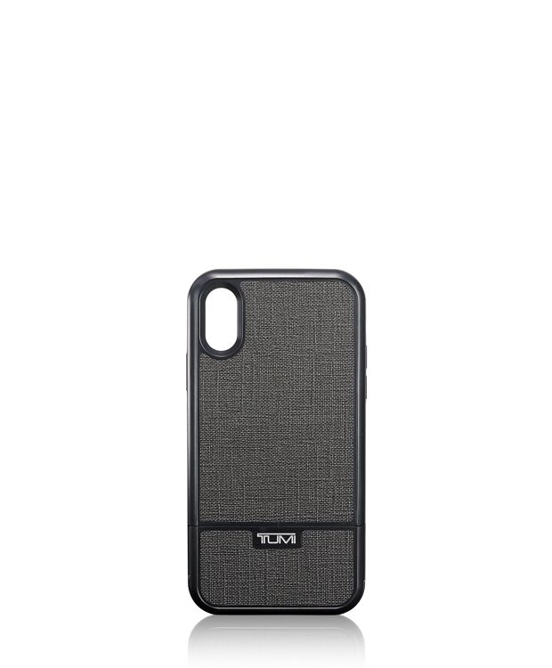 Kickstand Case iPhone XR in Pewter