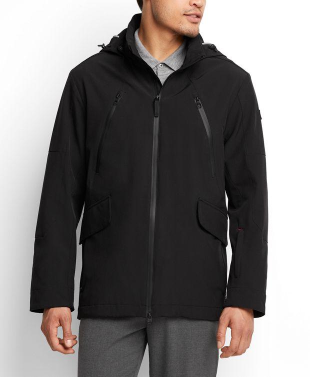 Lakeridge Men's Jacket in Black