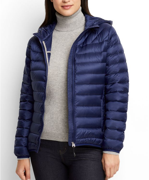Estes Hooded Jacket in Ultramarine