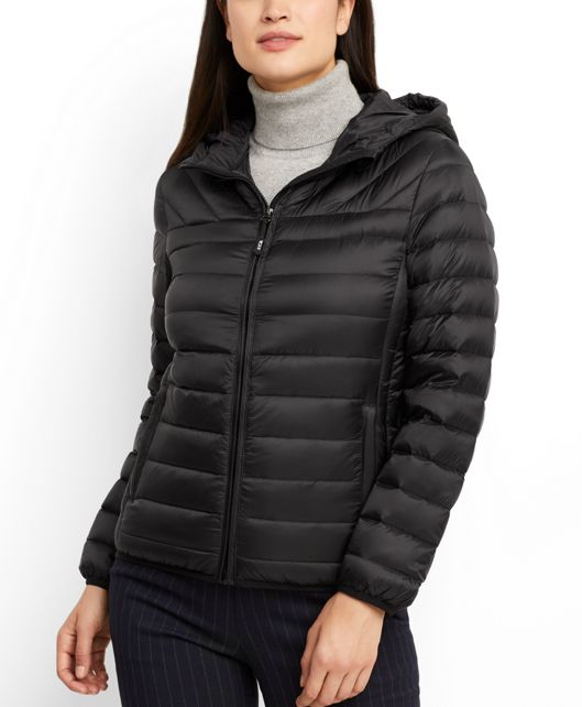 Estes Hooded Jacket in Black