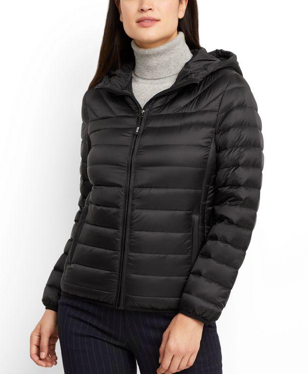 Estes Hooded Jacket in Black
