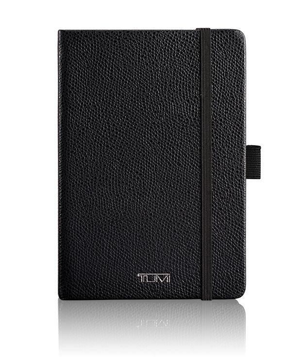Leather Notebook in Black