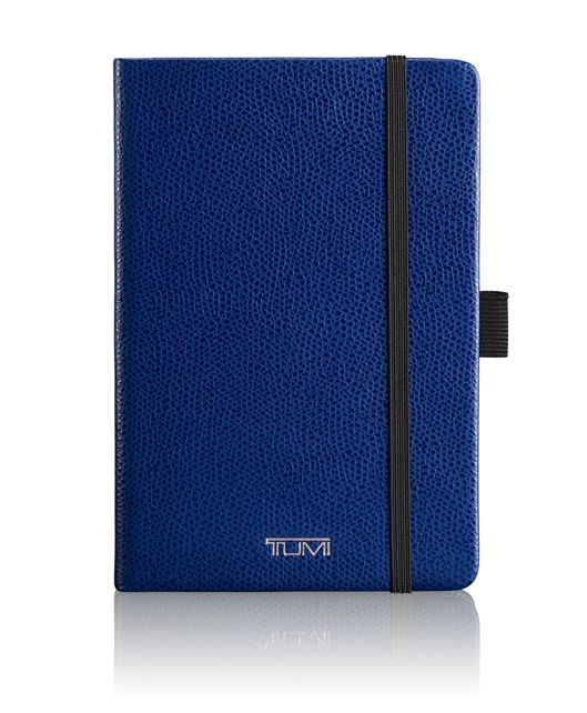 Leather Notebook in Blue
