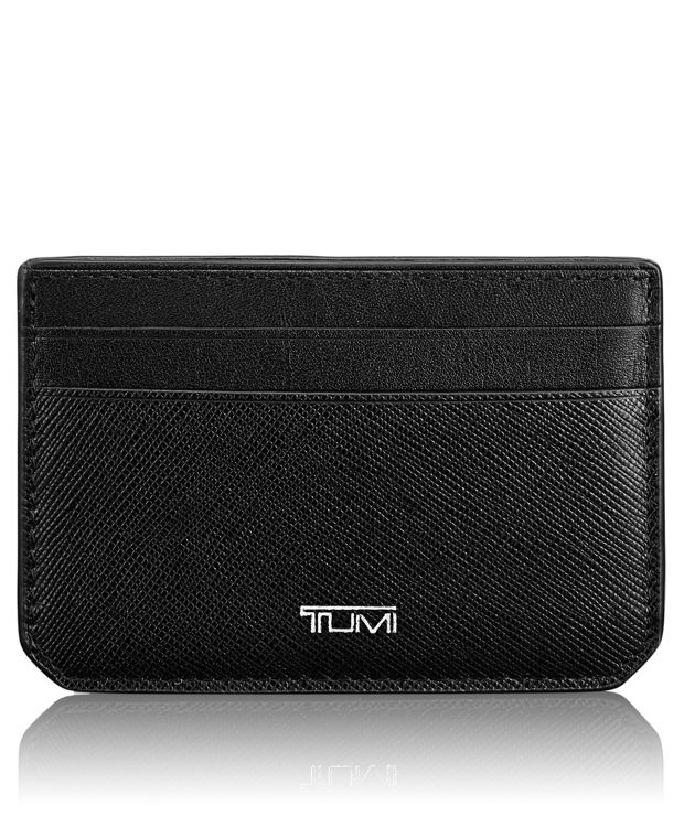 Slim Card Case ID in Black