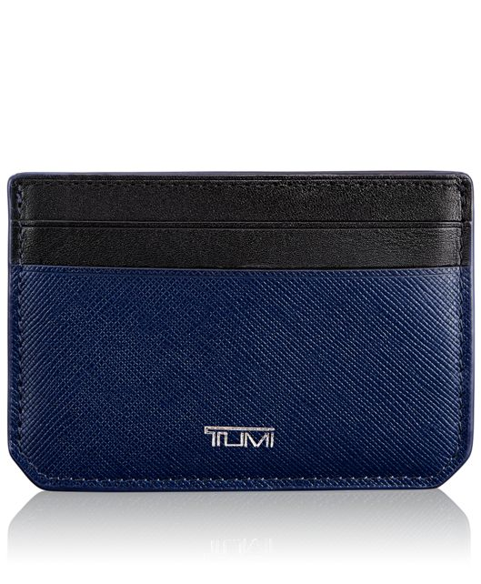 Slim Card Case ID in Indigo