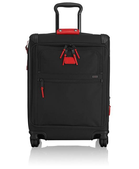 Continental Expandable 4 Wheeled Front Lid Carry-On in Cherry
