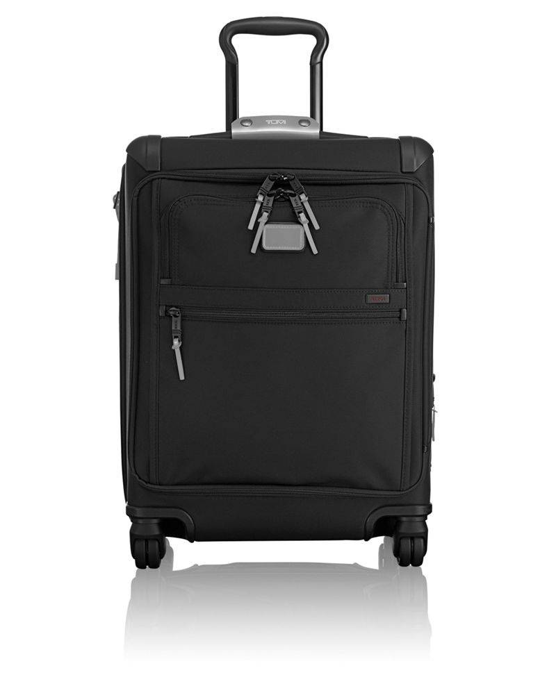 Continental Expandable 4 Wheeled Front Lid Carry-On