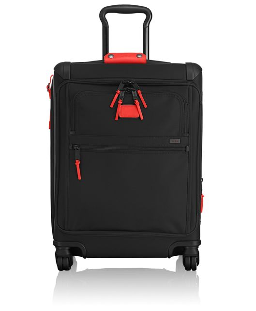 Continental Expandable 4 Wheeled Front Lid Carry-On in Charcoal Restoration