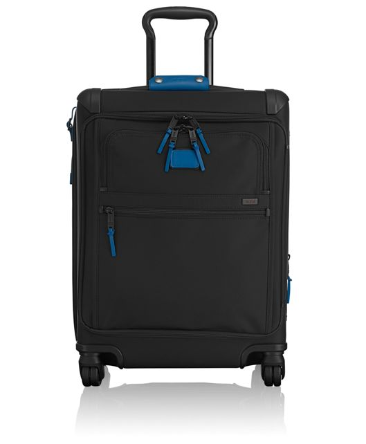 Continental Expandable 4 Wheeled Front Lid Carry-On in Atlantic