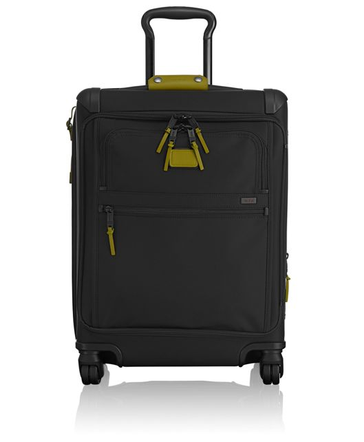 Continental Expandable 4 Wheeled Front Lid Carry-On in Green Camo