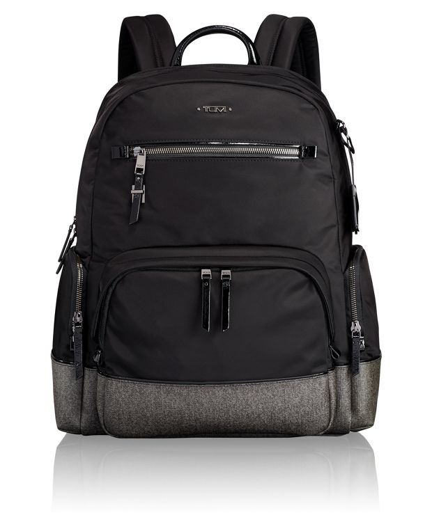 Carson Backpack in Earl Grey/Black