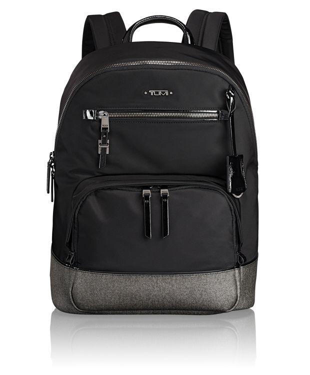 Hagen Backpack in Earl Grey/Black