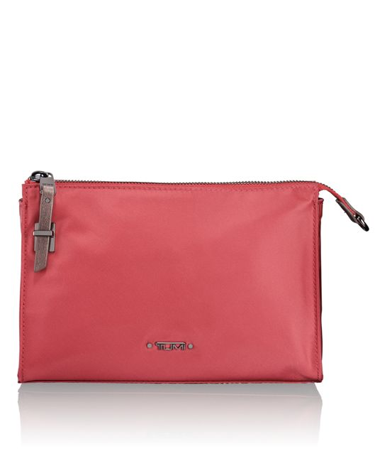 Basel Small Triangle Pouch in Rose