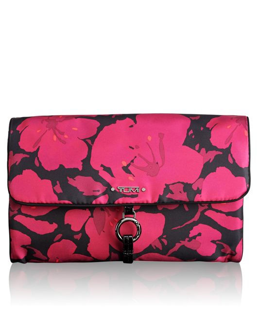 Ennis Jewelry Travel Roll in Magenta Floral