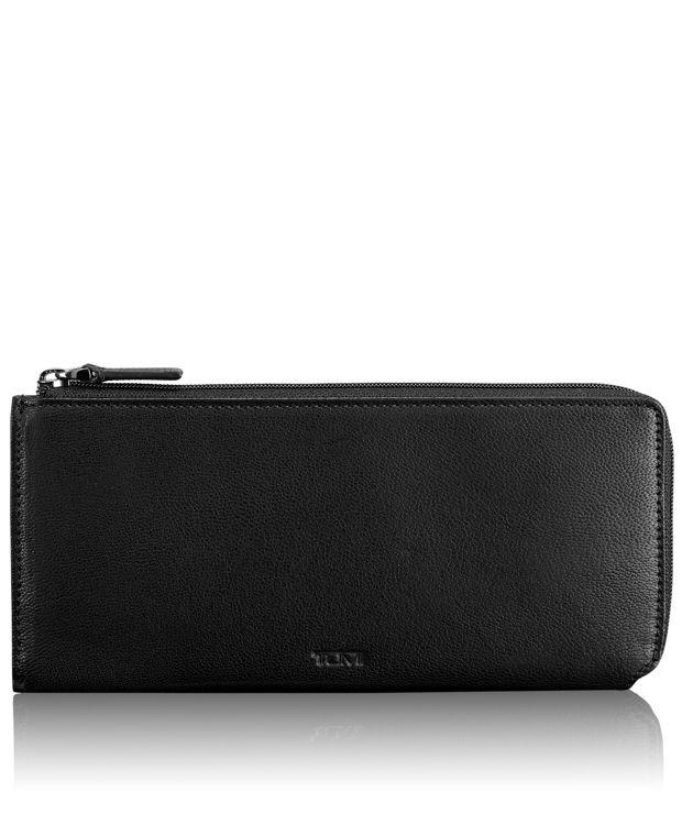 Zip Tech Wallet in Black