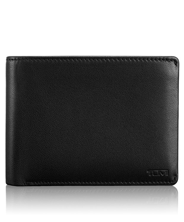 Global Removable Passcase ID Wallet in Black