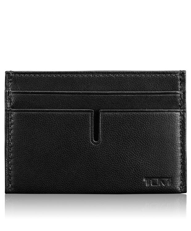 Slim Card Case in Black