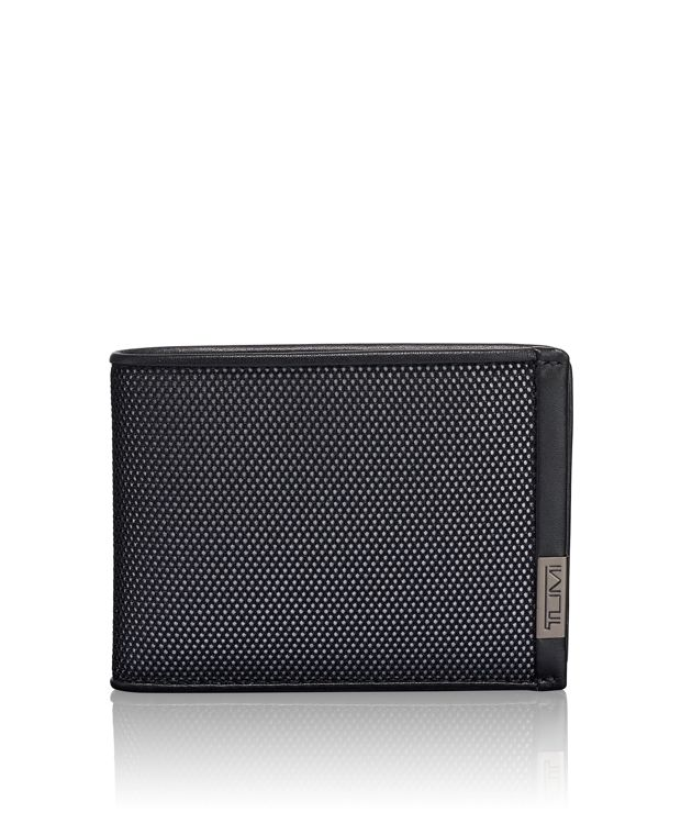 TUMI ID Lock™ Double Billfold in Reflective Silver