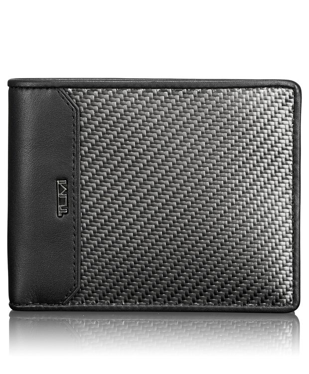 Carbon Fiber Global Double Billfold in Carbon