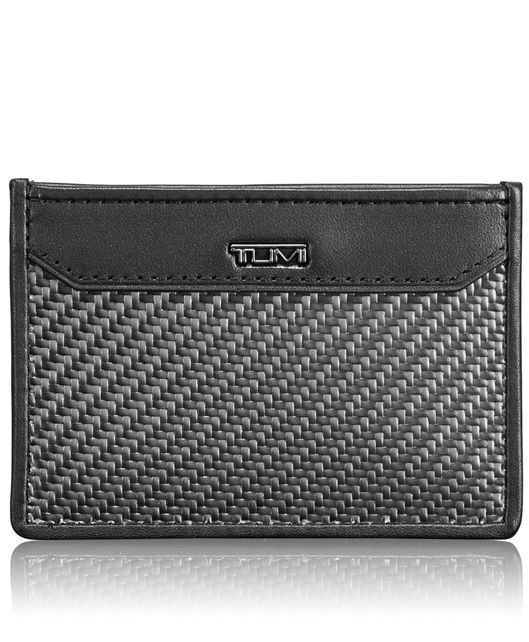 Carbon Fiber Slim Card Case in Carbon