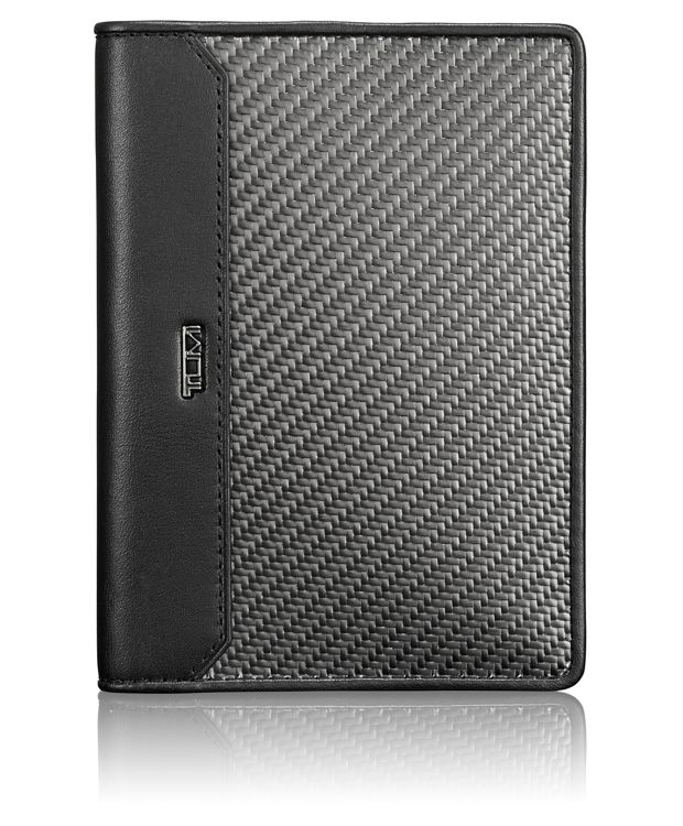 Carbon Fiber Passport Cover in Carbon