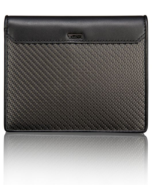 TUMI ID Lock™ Carbon Fiber Passport Case in Carbon Fiber