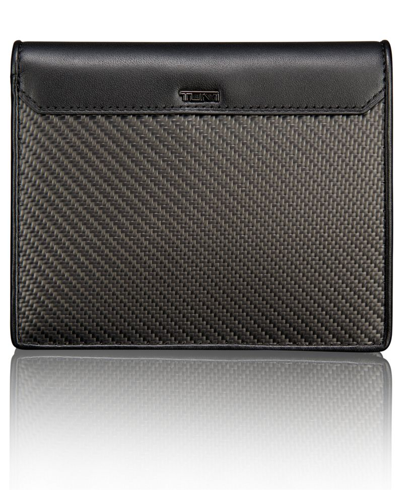TUMI ID Lock™ Carbon Fiber Passport Case