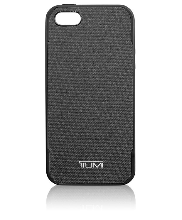 TUMI Co-Molded Case for iPhone SE in Grey