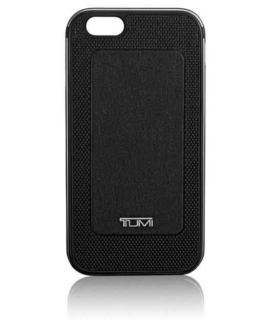 TUMI Two Piece Case for iPhone 6 and 6S in Black w/Gunmetal