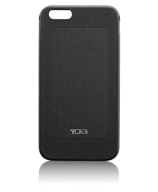 TUMI Two Piece Case for iPhone 6 Plus and 6S Plus in Black w/Gunmetal