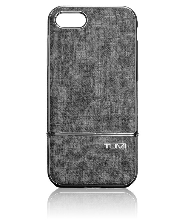 TUMI Two Piece Slider Case for iPhone 7 in Grey/Gunmetal