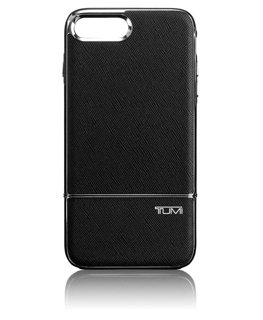 TUMI Two Piece Slider Case for iPhone 7 Plus in Black/Silver