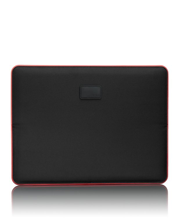 """13"""" Slim Solutions Laptop Cover in Black/Red"""