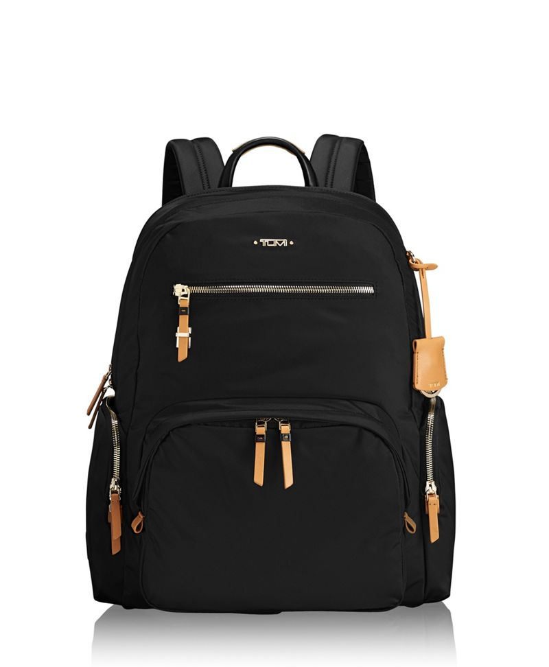 Black Carson Backpack