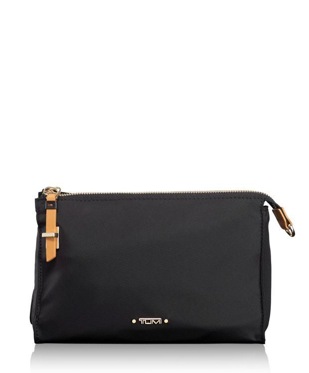 Basel Small Triangle Pouch in Black