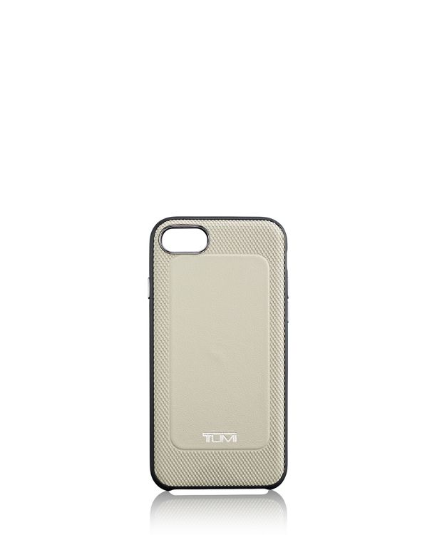 Protective Leather Co-Mold iPhone 8 in Grey