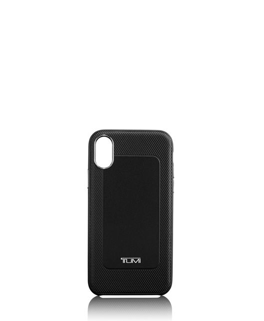 Protective Leather Co-Mold iPhone XS/X in Black
