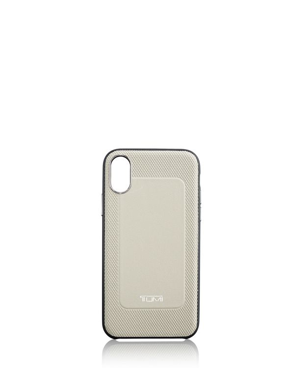 Protective Leather Co-Mold iPhone XS/X in Grey