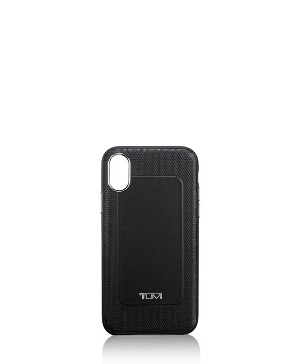 Protective Leather Co-Mold iPhone XR in Black