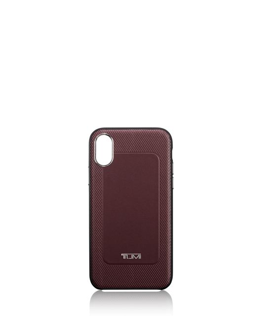 Protective Leather Co-Mold iPhone XR in Burgundy