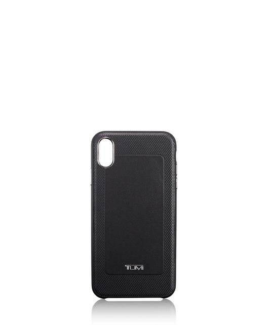 Protective Leather Co-Mold iPhone XS Max in Black