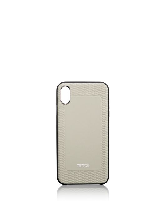 Protective Leather Co-Mold iPhone XS Max in Grey